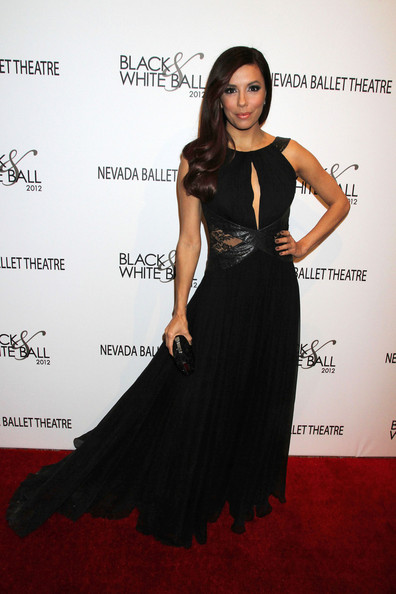 Eva Longoria Eva Longoria at the Black White Ball in Vegas