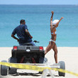 Eva Pigford Eva Marcille Films a Music Video in Miami