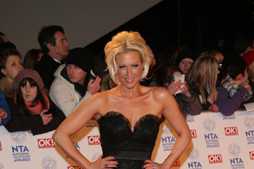 Faye Tozer Celebs at the National TV Awards in London