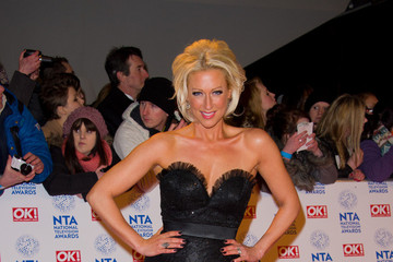 Faye Tozer Celebs at the National Television Awards in London