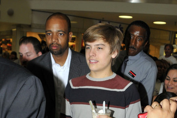 Dylan Sprouse Dylan and Cole Sprouse at Millions of Milkshake