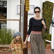 Fred Segal Michelle Monaghan Out in LA 2