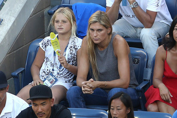 Gabrielle Reece Celebs Watch the US Open Women's Final