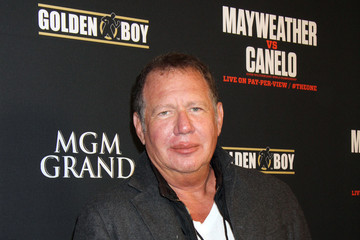 Gary Shandling Stars at the MGM Grand for the Floyd Mayweather Jr. Fight