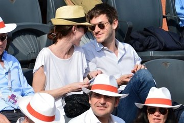 Gaspard Ulliel Celebs Watch the French Open in Paris