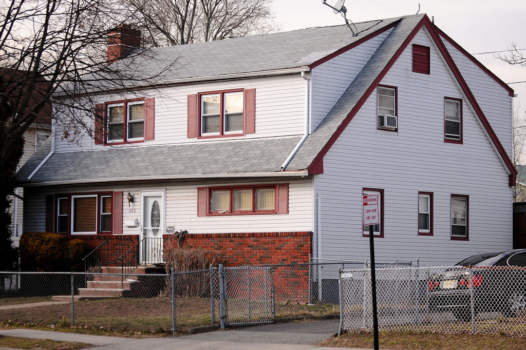 General views of whitney houston 39 s childhood home located for E house