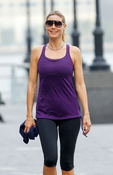 Heidi Klum Out in NYC - Pictures - Zimbio