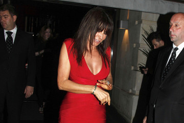 Giannina Facio H R Giger  leaving the 'Prometheus' world premiere afterparty held at Aqua nightclub in London