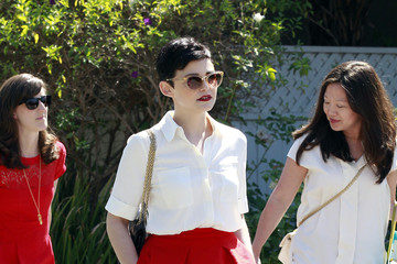 Ginnifer Goodwin Celebs Arrive for a Party in LA