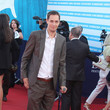 Grand Corps Malade Celebs at the Closing Ceremonies of the Deauville Film Fest