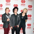 Green Day Celebs at the iHeartRadio Music Festival
