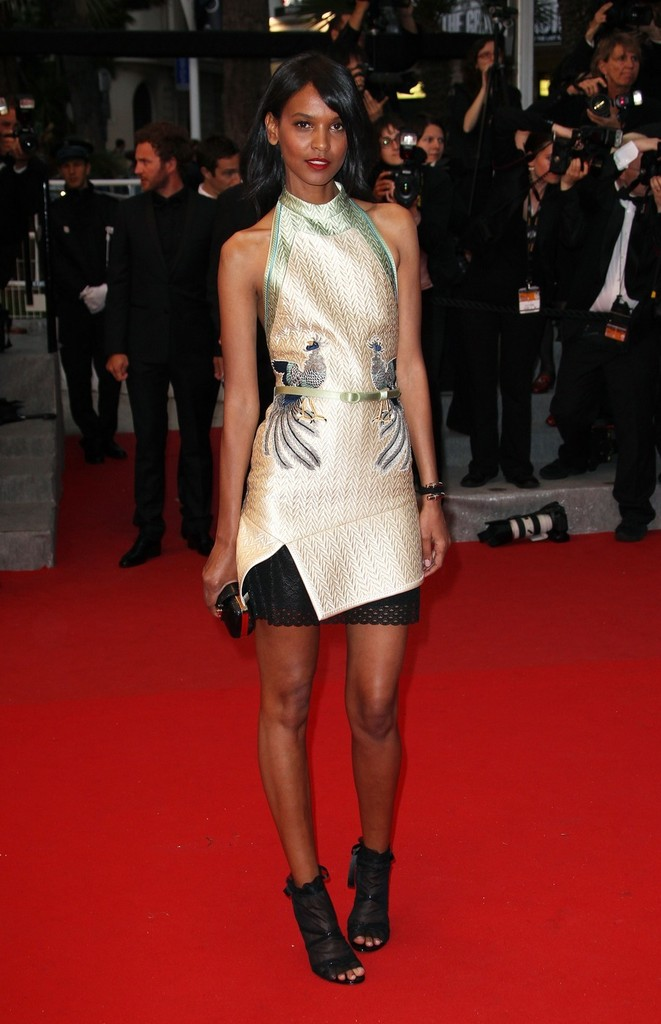Liya Kebede 'Cosmopolis'  red carpet premiere. 65th Cannes Film Festival 2012, held at the Palais des Festivals on the famous Croisette Avenue in Cannes.