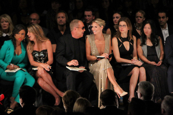 Celebs in the Front Row at Fashion Week []