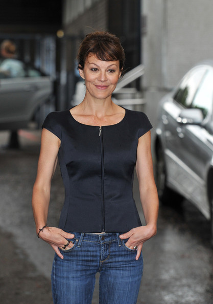 Helen McCrory in Helen McCrory Arrives at the ITV Studios ...