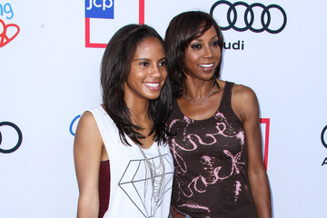 Holly Robinson Peete Ryan Elizabeth Peete Arrivals at the Children Mending Hearts Style Sunday