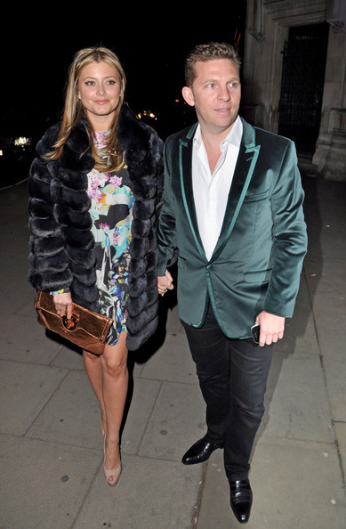 Holly Valance And Nick Candy At For The Faberge Egg Hunt Grand Auction