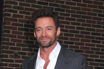 Hugh Jackman Hugh Jackman Leaves 'Letterman'