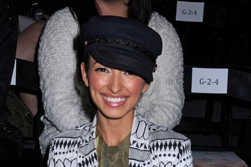 India de Beaufort Celebs at Fashion Week