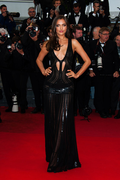 Irina Shayk Irina Shayk attends the 'All Is Lost' premiere during the 66th Annual Cannes Film Festival at Palais des Festivals in Cannes.