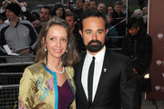 Evgeny Lebedev arrives at the Gorby 80 Gala at the Royal Albert Hall in London. The gala is to celebrate the 80th birthday of the former Soviet leader.