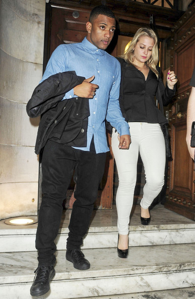 James Arthur seen partying till the early hours of the morning at the Aura Nightclub in London after the live taping of the 'X Factor'