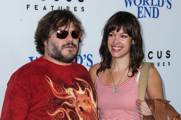 Jack Black Tanya Haden 'The World's End' Premieres in Hollywood — Part 2