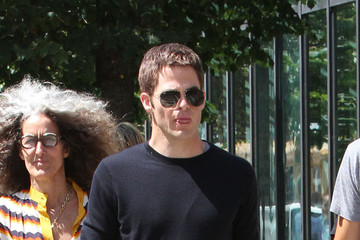Jack Ryan Chris Pine Films 'Jack Ryan' in NYC