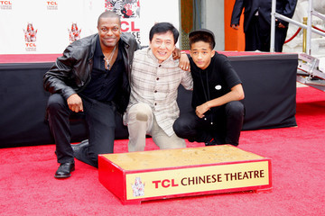 Jackie Chan Jaden Smith Jackie Chan's Hand and Footprint Ceremony —Part 3