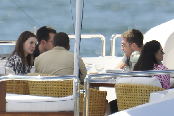 Jake Gyllenhaal and Anne Hathaway on a Yacht in Sydney Harbour 2
