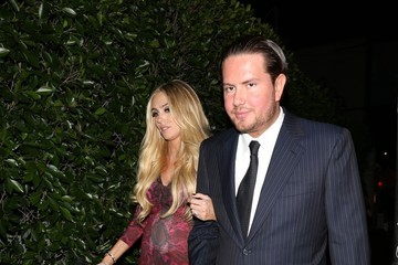 James Stunt The Ecclestone Sisters Dine Out