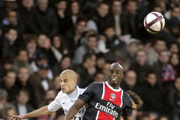 Mohamed Sissoko Javier Pastore plays for Paris Saint Germain against Dijon in Paris
