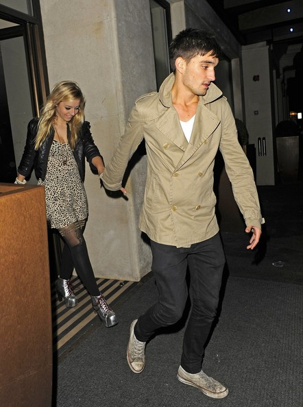 The wanted tom girlfriend