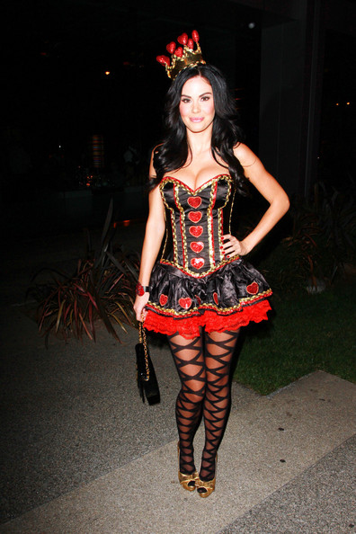 Jayde Nicole out in LA [photograph,fashion model,fashion,costume,leg,runway,catwalk,fashion show,model,girl,fashion design,queen,jayde nicole,playboy playmate,male,hearts,halloween costume,fashion,los angeles,party,jayde nicole,halloween,halloween costume,costume,celebrity,party,clothing,trick-or-treating,costume party,fashion]