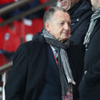 Jean-Michel Aulas Celebs at a Soccer Game
