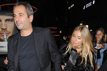 Jean-Yves Le Fur Jean-Yves Le Fur and Sienna Miller Leave the Lacel Celebration