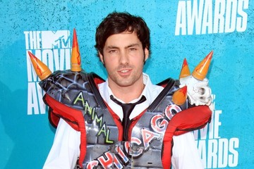 Jeff Dye Celebs Arrive at the 2012 MTV Movie Awards