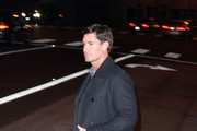 """Jeff Lewis and Gage Edward, from the hit reality show """"Flipping Out"""", arrive and leave separately from Boa Steakhouse in West Hollywood."""