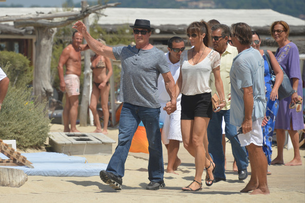 Sylvester Stallone in St. Tropez
