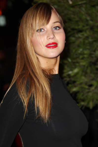 "Jennifer Lawrence - Jennifer Lawrence attends the ""Hunger Games"" movie premiere in Paris"