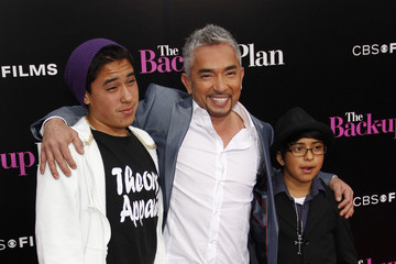 """Cesar Millan Calvin The Premiere of """"The Back-Up Plan"""""""