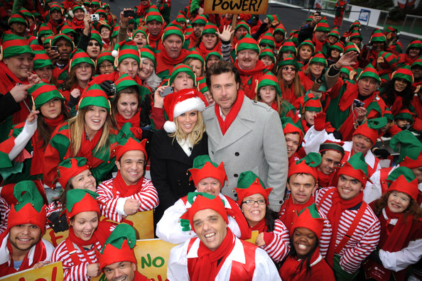 Jenny McCarthy at the ABC Family's Elf Party []
