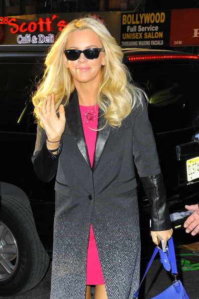 jenny mccarthy jenny mccarthy appearing to sport a new foot tattoo