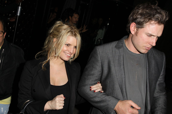 jessica simpson and cacee cobb. Jessica Simpson and her new