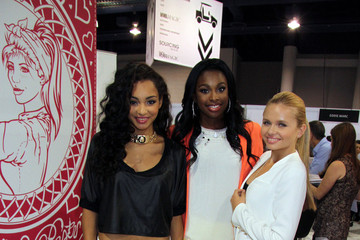 Jessica Jarrell Celebs at the MAGIC Convention in Las Vegas
