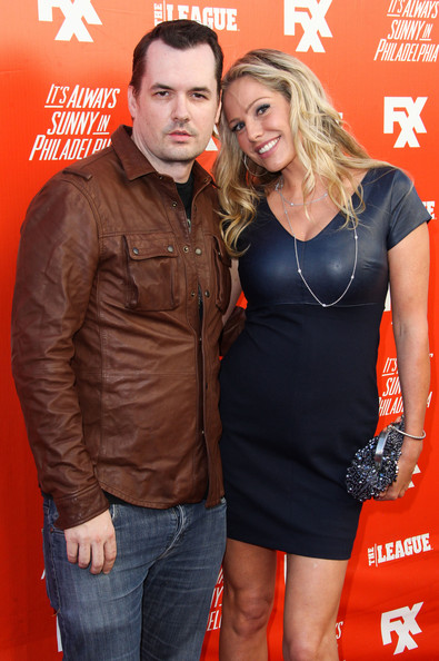Kate Luyben with boyfriend Jim Jefferies