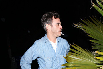 Joaquin Phoenix Joaquin Phoenix Goes to the Prince Concert