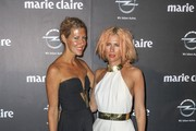 Sarah Jane Clarke and Heidi Middleton, fashion designers of Label attend 2013 Prix de Marie Claire Awards at the Star in Sydney.