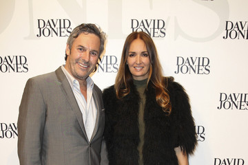 Joe Coffey Gracie Otto at the David Jones Spring/Summer 2013 Collection Launch