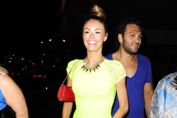 Joe Fournier Chloe Sims and Her Boyfriend Out Late in London