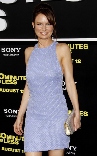 "Mary Lynn Rajskub at the Los Angeles premiere of ""30 Minutes Or Less"" held at the Mann Village Theater, Los Angeles."